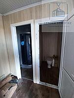 Жилой контейнер 40 фут. под прачечную с санузлом и душем, фото 1
