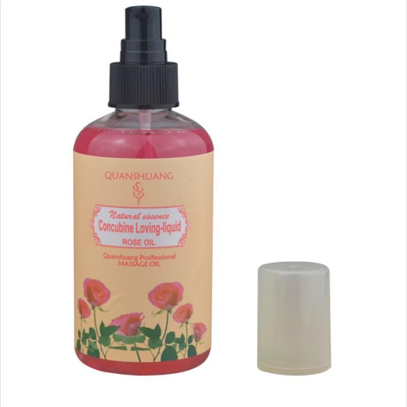 Массажное масло с афродизиаком – Роза (220 мл.)