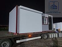 Жилой вагончик 20 футовый. под КПП, фото 1