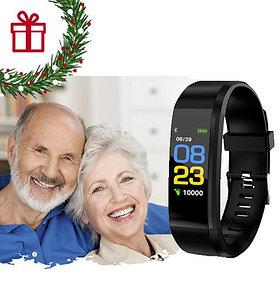 Умный браслет здоровья. 5 в 1 ( давление, пульс, шагомер, калории,часы) Доставка бесплатно!