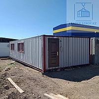 Жилой контейнер из 2-х 40 футовых контейнеров под конференц зал, фото 1