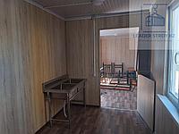 Жилой контейнер под столовую и кухню на 18 человек из 40 футового контейнера, фото 1