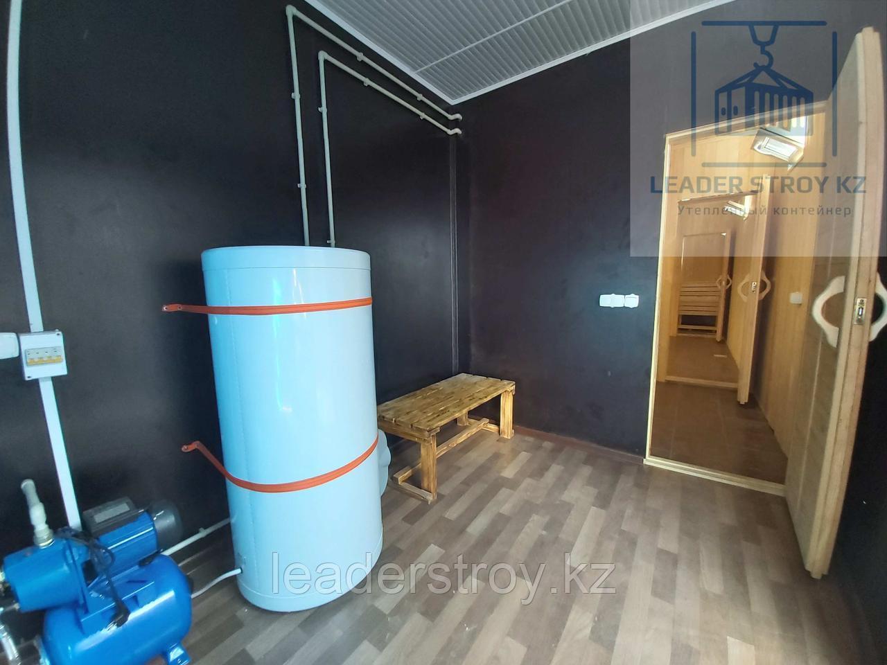 Жилой контейнер 40 футовый под Баню