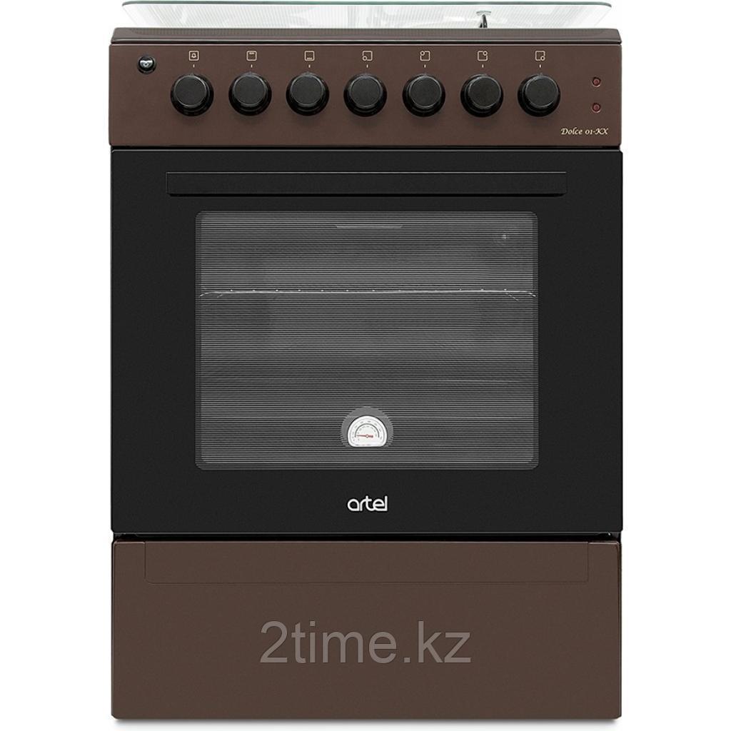 Плита газовая электрическая Artel DOLCE 21-EX, коричневый (2+2)
