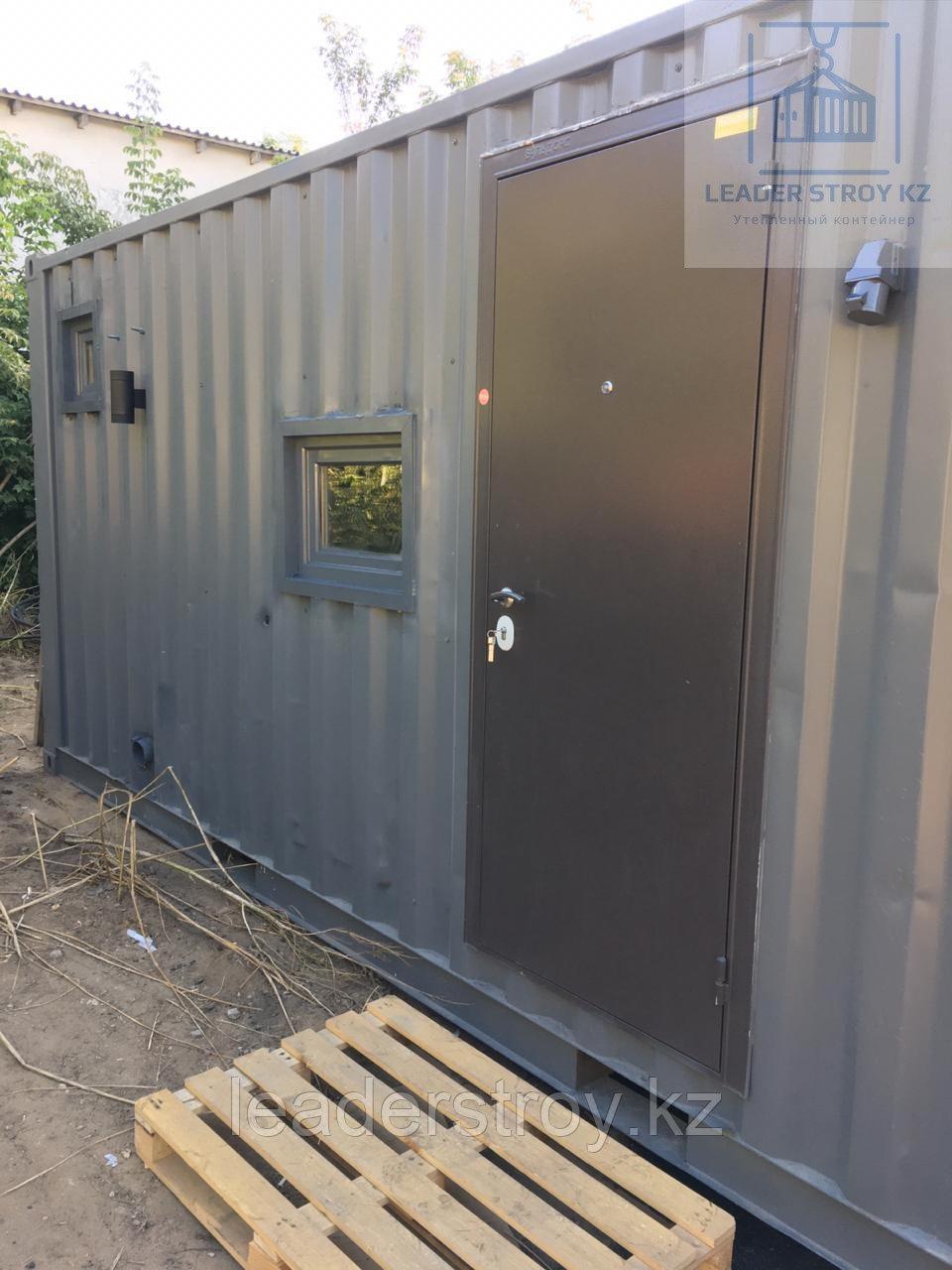 Модульный дом из 20 футового контейнера на заказ в Алматы