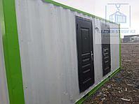 Модульный туалет из 20 фут. контейнера на 4 кабинки, фото 1
