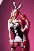Набор Cute bunny (ободок с ушками, чулки, платье, манжеты)