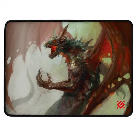 Коврик для мышки игровой Defender Dragon Rage M 360x270x3 мм  ткань + резина