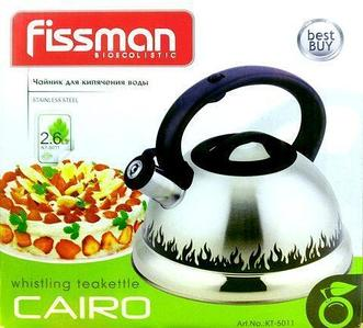 Чайник со свистком Fissman CAIRO KT-5011 [2,6 л]