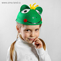Карнавальная шляпа детская «Царевна-лягушка», р-р. 52-54