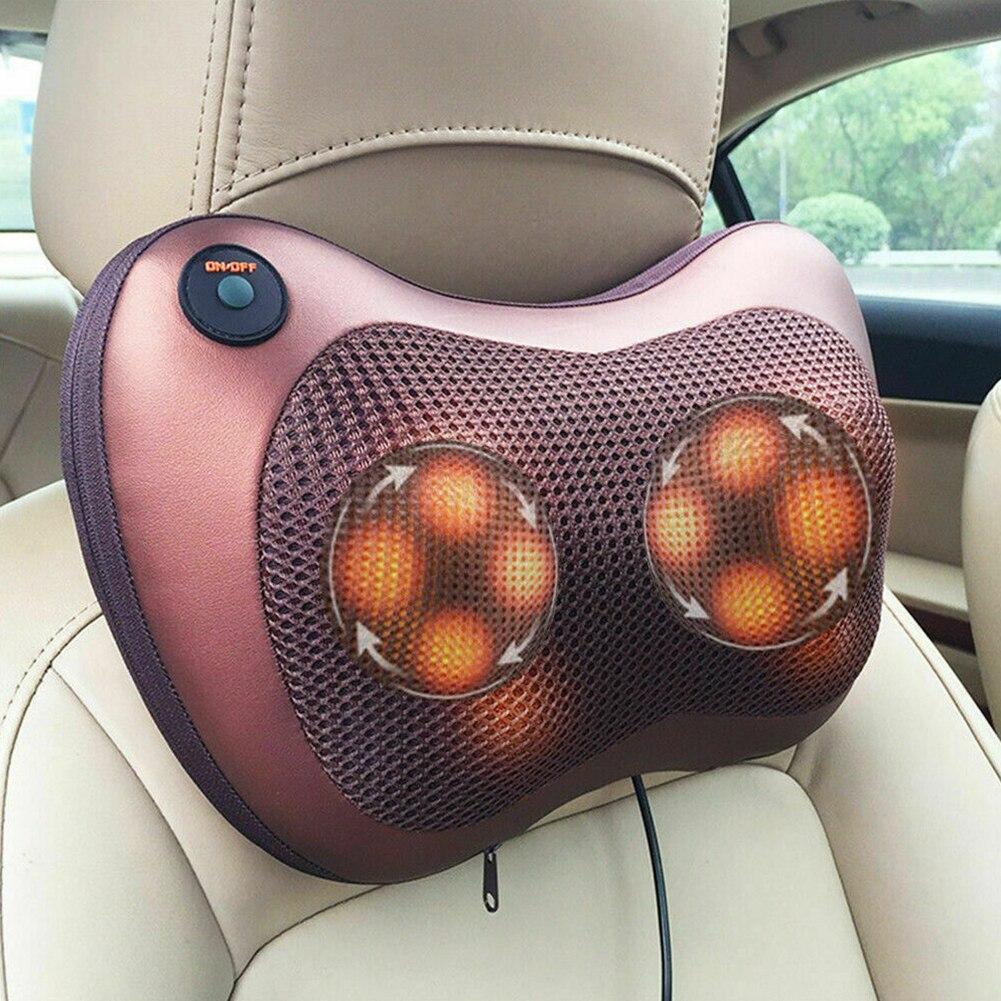 Массажная подушка Massage Pillow  в авто и для дома.