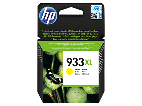 HP CN056AE Картридж желтый HP 933XL
