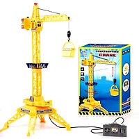 Детская игрушка подъемный кран на пульте управления. Модель: NO.9822
