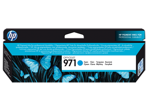 HP CN622AE Картридж голубой HP 971