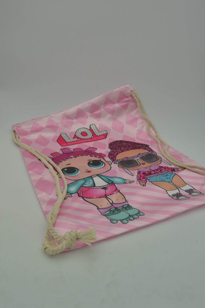 Сумка-мешок для обуви LOL Dolls