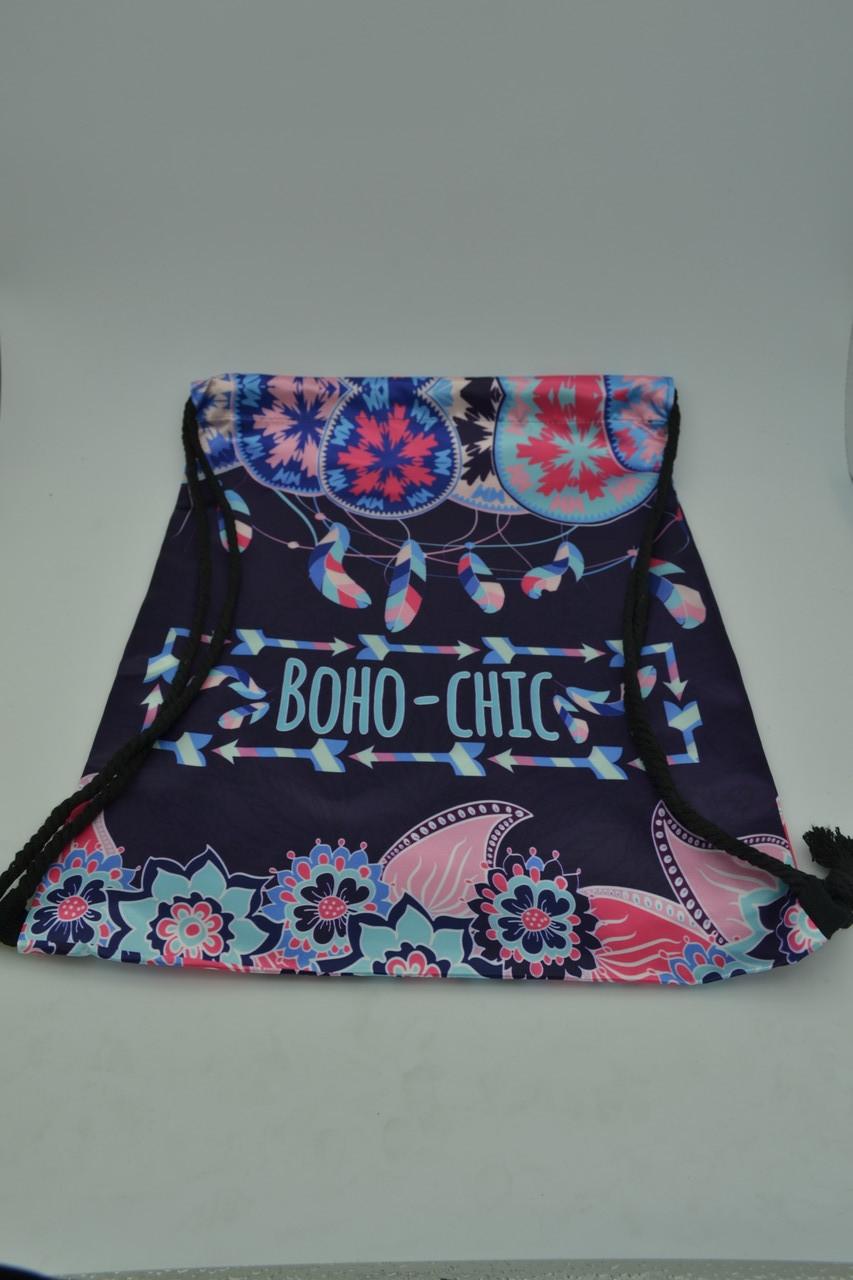 Сумка-мешок для обуви Boho-chic