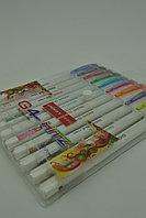 Набор ручек шариковых цветных UNIMAX HITZ 10 цветов