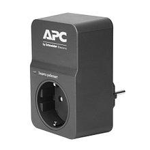 APC PM1WB-RS Сетевой фильтр Essential SurgeArrest, 1 розетка, 230 В, черный