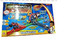 Детский игровой набор автотрек 360 градусов из 4 машинок как модель: NO.828-55