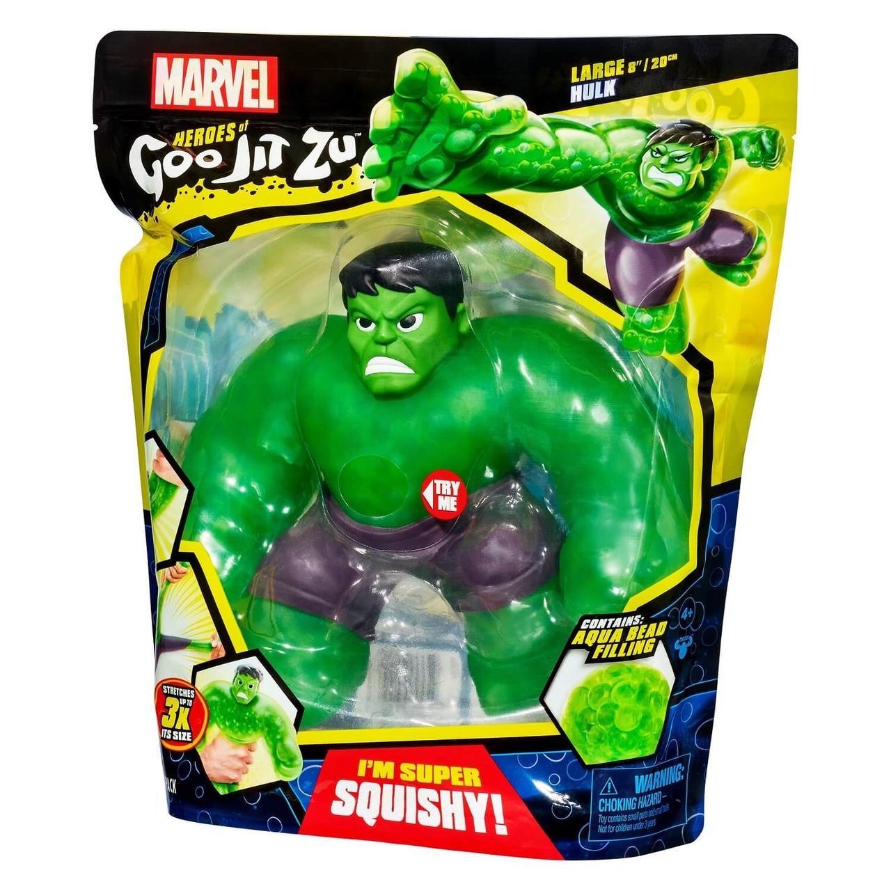 Гуджитсу Халк XL. Тянущаяся фигурка Goojitzu Hulk - фото 1