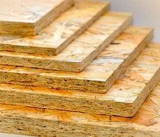 ОSB-3 плита не влагостойкая  толщина 6 мм (1,25 мм*2,5 мм) 1 лист 3,125м2