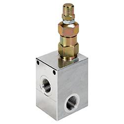 """38099, Контрольный клапан избыточного давления 1/2"""" F/F (мама-мама), 5-50 бар"""