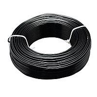 """Рулон кабеля 100 м 1,5мм """"черный"""""""