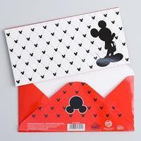 Открытка-конверт для денег 'С Днем рождения!', Микки Маус (комплект из 10 шт.)