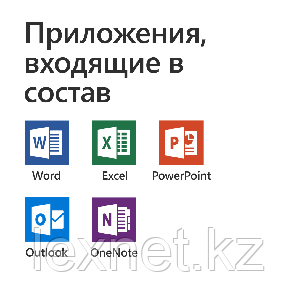 Microsoft Office Home and Business 2019 (T5D-03362) Russian Kazakhstan Only Medialess P6, фото 2