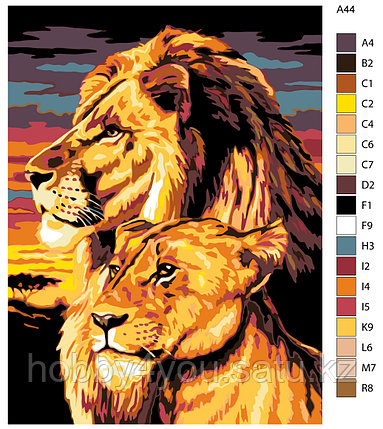 Картина по номерам красками 30х40см, фото 2