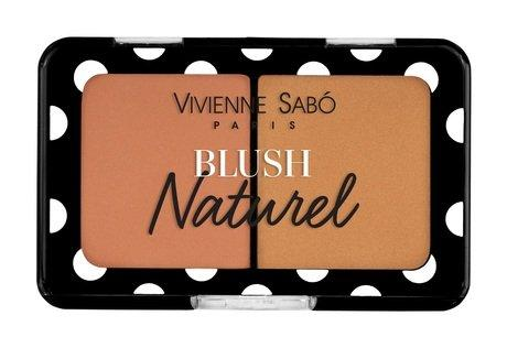 "Румяна компактные Vivienne Sabo ""Blush Naturel"" 1 нежно-розовый"