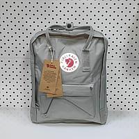 Рюкзак Fjallraven Kanken Classic. Цвет Серый отличный вариант для повседневных прогулок, учебы, путешествий.