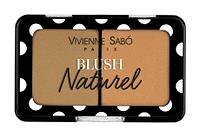 """Румяна компактные Vivienne Sabo """"Blush Naturel"""" 3 коричневый"""