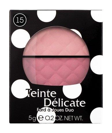 Vivienne Sabo Fard a Joues Duo Teinte Delicate Двойные румяна | 15 Cияющий розовый. Нежый светлый и темный