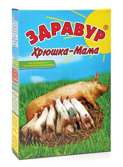 Здравур Хрюшка-Мама 600гр премикс
