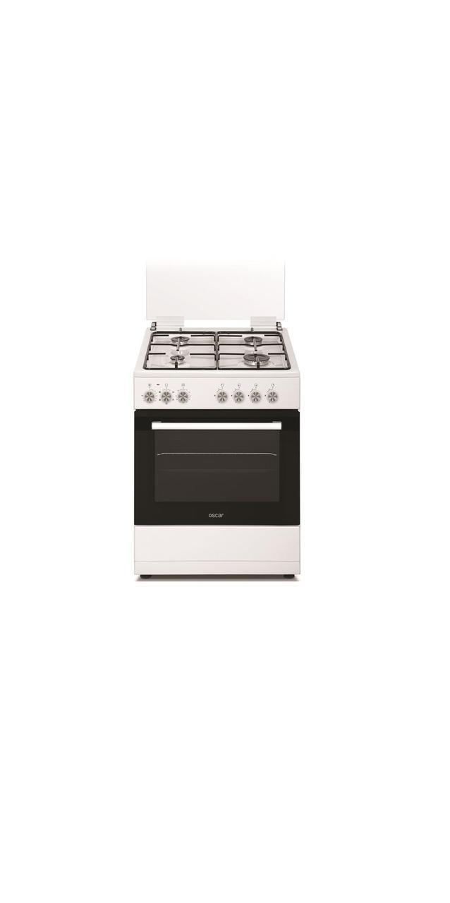 Комбинированная плита Carino- 6315 ZERW белый