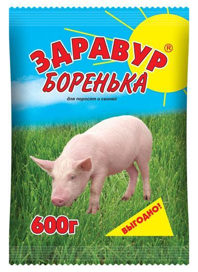 Здравур Боренька 600гр премикс