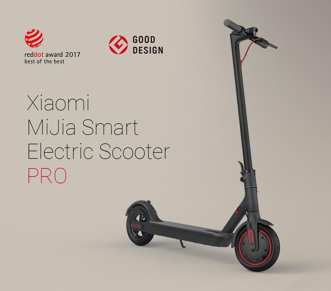Электросамокат Xiaomi MiJia Smart Electric Scooter PRO FBC4015GL - фото 4