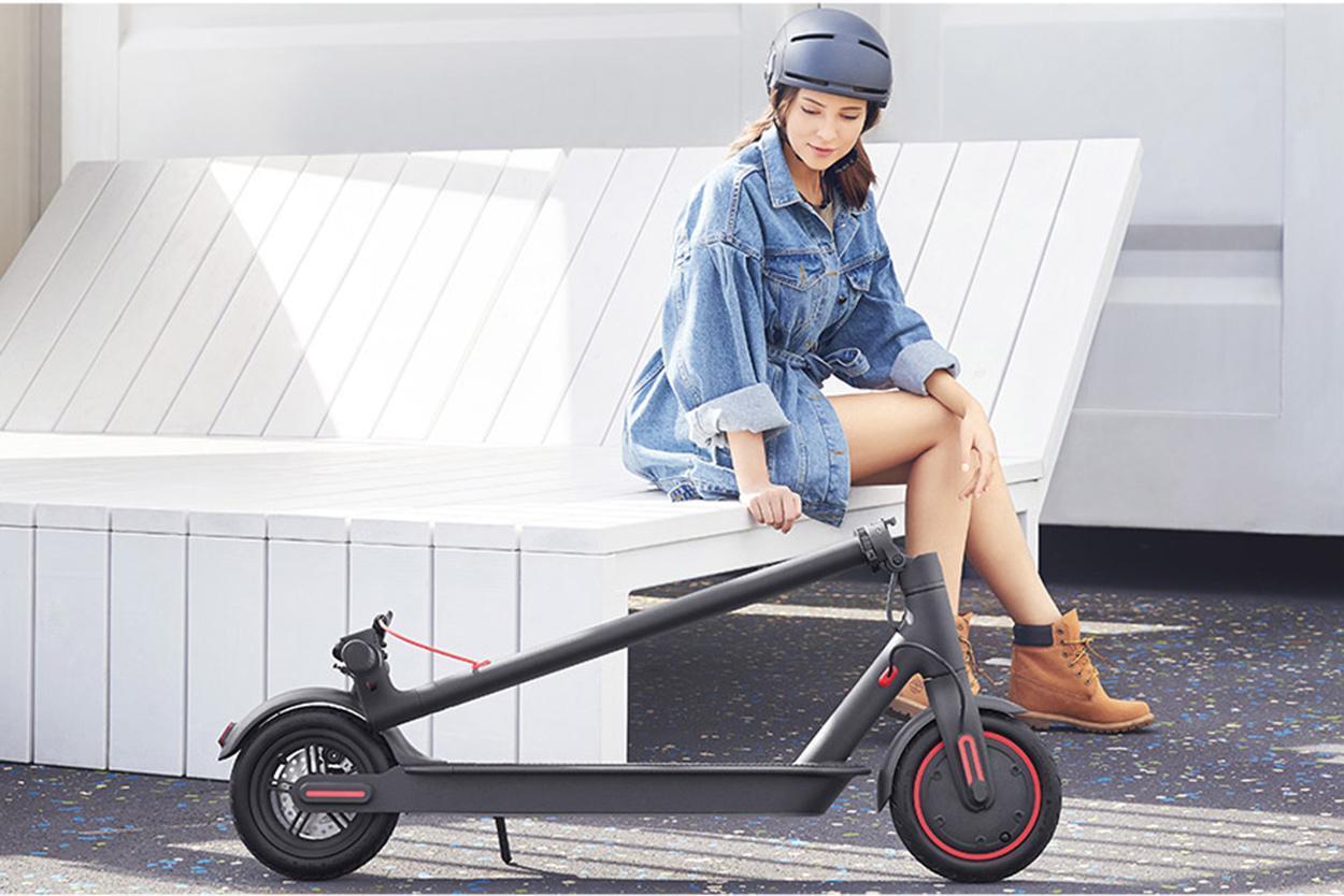 Электросамокат Xiaomi MiJia Smart Electric Scooter PRO FBC4015GL - фото 6