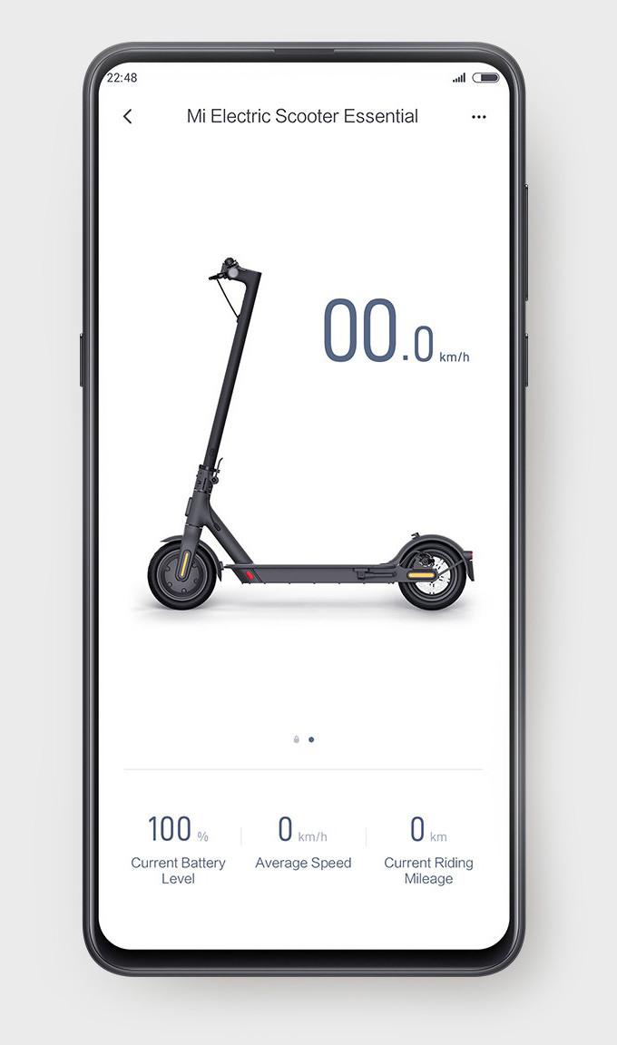 Электросамокат Xiaomi MiJia Smart Electric Scooter Essential FBC4022G - фото 5