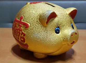 Золотая свинья копилка