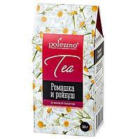 Ромашковый чай с Ройбушем Polezzno