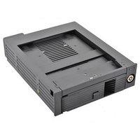 Сменный бокс для HDD AgeStar SMRP SATA II пластик черный 3.5'