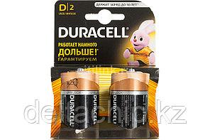 DURACELL батарейки Basic D 2шт