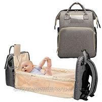 Сумка-рюкзак с пеленальным манежем, фото 6