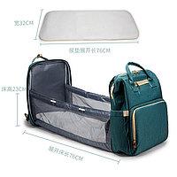 Сумка-рюкзак с пеленальным манежем, фото 4