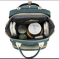 Сумка-рюкзак с пеленальным манежем, фото 3