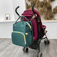 Сумка-рюкзак с пеленальным манежем, фото 5