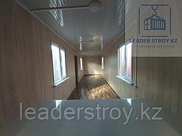 Столовая с кухней из 40 футового контейнера в Алматы