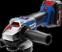 Аккумуляторная углошлифовальная машина Зубр 18 В
